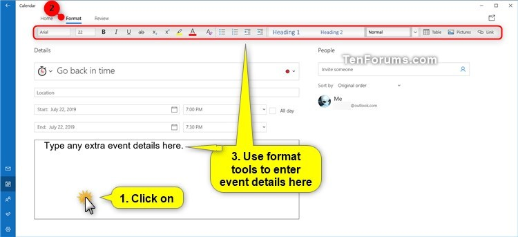 Create New Event in Calendar app in Windows 10-create_calendar_event-13.jpg