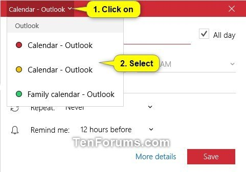 Create New Event in Calendar app in Windows 10-create_calendar_quick_event-2.jpg