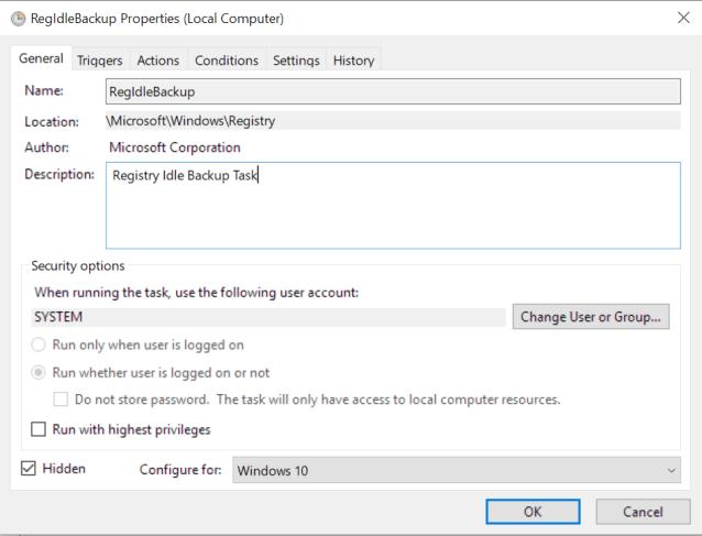 Cách Bật Tính Năng Tự Động Sao Lưu Registry Trên Windows 10 - AN PHÁT