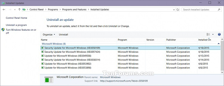 View Windows Update History in Windows 10-installed_updates-2.jpg