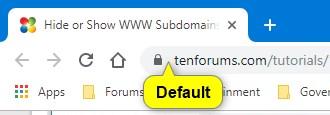 Hide or Show WWW Subdomains of URLs in Address Bar of Google Chrome-default.jpg
