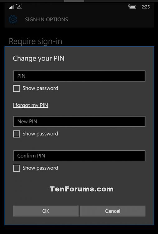 PIN - Change in Windows 10 Mobile Phones-windows_10_phone_change_pin-4.png