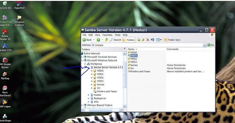 Hyper-V - Add Windows XP Mode Virtual Machine in Windows 10-samba.png