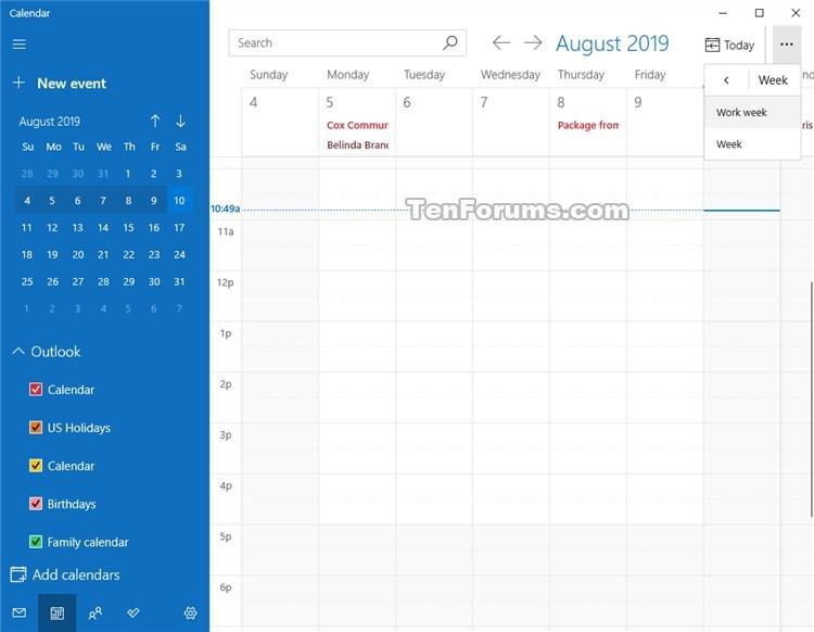 Change View in Calendar for Windows 10-calendar_week_view-3.jpg