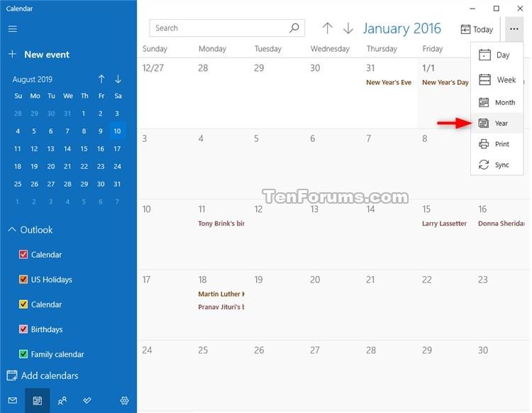 Change View in Calendar for Windows 10-calendar_year_view-2.jpg