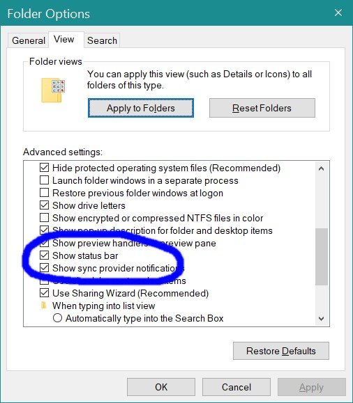 Hide or Show Status Bar in File Explorer in Windows 10-folder-setting.jpg