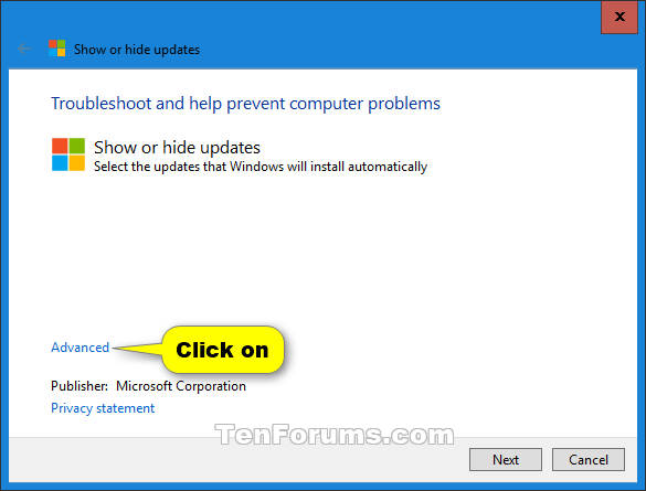 Name:  Windows_10_Show_or_hide_updates-1.png Views: 193267 Size:  18.0 KB