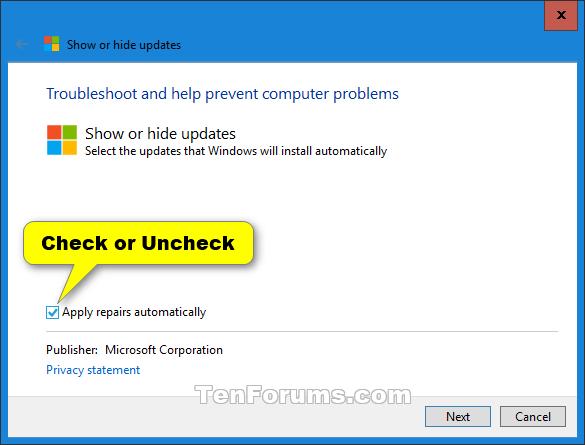 Hide or Show Windows Updates in Windows 10-windows_10_show_or_hide_updates-2.png
