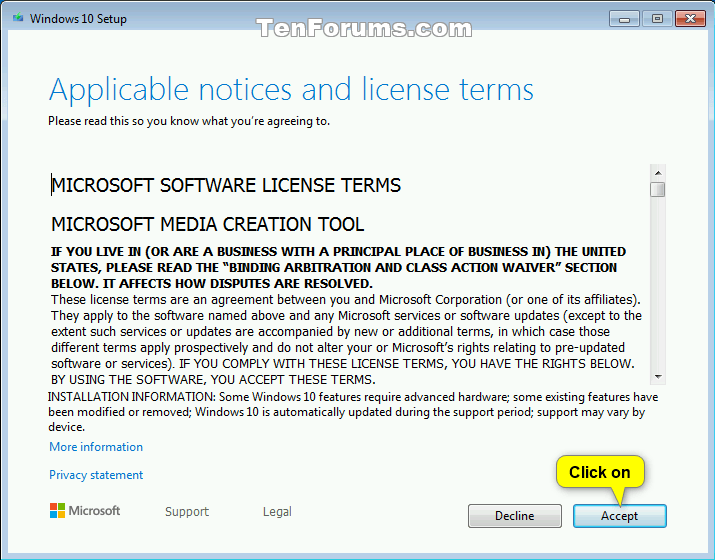 Frissítsen Windows 10 rendszerre a Windows 7 rendszerről az ingyenes frissítéshez