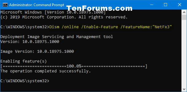 Install .NET Framework 3.5 in Windows 10-net_framework_3.5_command_prompt.png