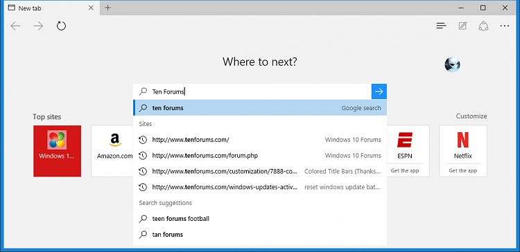 Change Default Search Engine in Microsoft Edge in Windows 10-microsoft_edge_search_from_top_sites.png