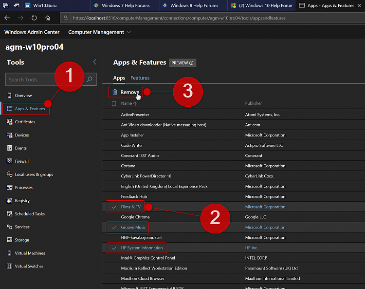 Windows Admin Center - Uninstall Apps and Software-select-apps.png
