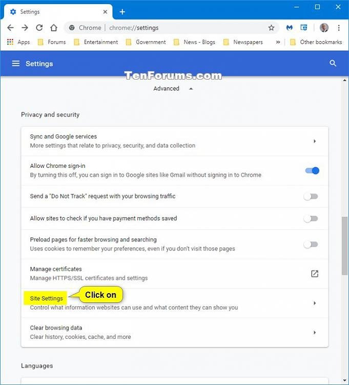 Allow or Block Sites to Play Sound in Google Chrome-chrome_sound_settings-3.jpg