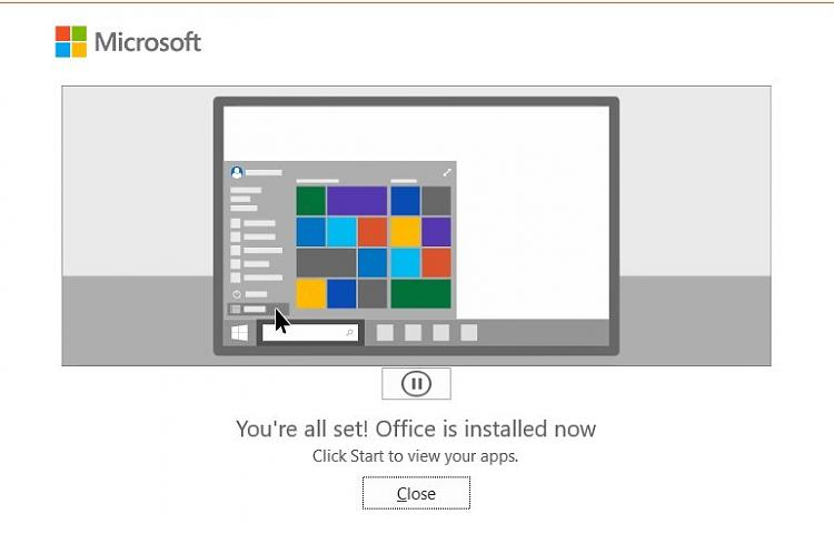 Custom install or change Microsoft Office with Office Deployment Tool-o365-installed.jpg