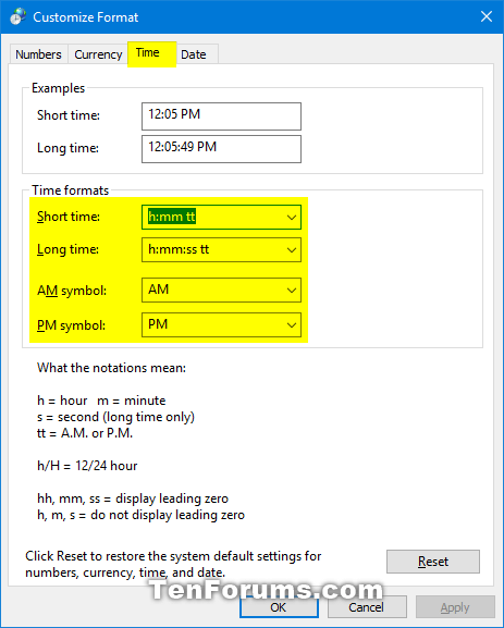 Change Date and Time Formats in Windows 10-date_and_time_formats_control_panel-4.png