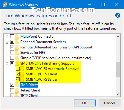 Share Files and Folders Over a Network in Windows 10-smb-drect_and_smb1.png