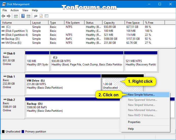 Mount Drive to a Folder in Windows 10-mount_unallocated_drive_to_folder_disk_management-1.png