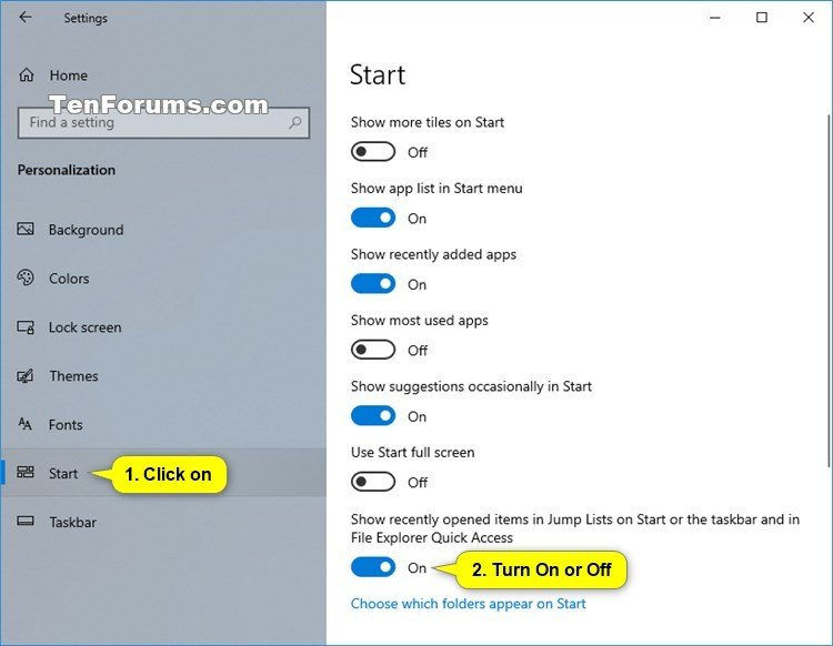Turn On or Off Recent Items and Frequent Places in Windows 10-recent_items_settings.jpg