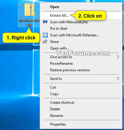 Fix Slow or Freezing Right Click Context Menu in Windows-extract_all.png