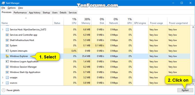 Fix Slow or Freezing Right Click Context Menu in Windows-restart_explorer_process.png