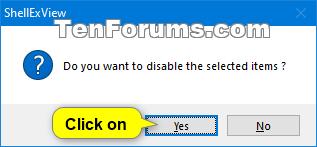 Fix Slow or Freezing Right Click Context Menu in Windows-shellexview-6.png