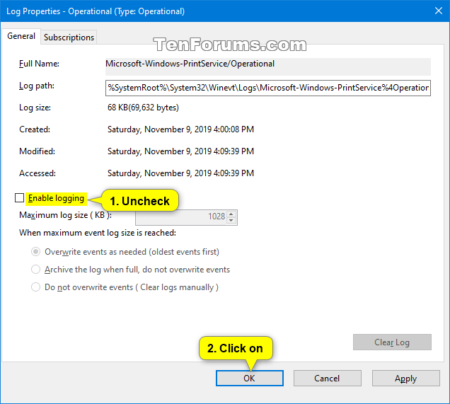 How to Enable or Disable Print Logging in Windows 10 Event Viewer-enable_print_logging-4.png