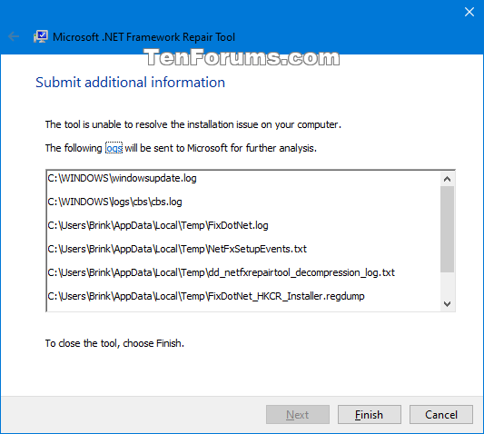 Fix .NET Framework with Microsoft .NET Framework Repair Tool-net_framework_repair_tool-4.png