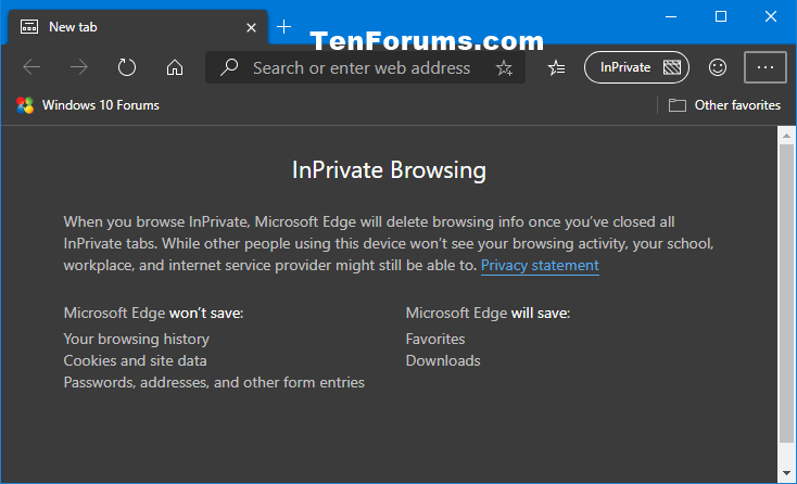 How to Open New InPrivate Browsing Window in Microsoft Edge Chromium-microsoft_edge_inprivate_browsing.png