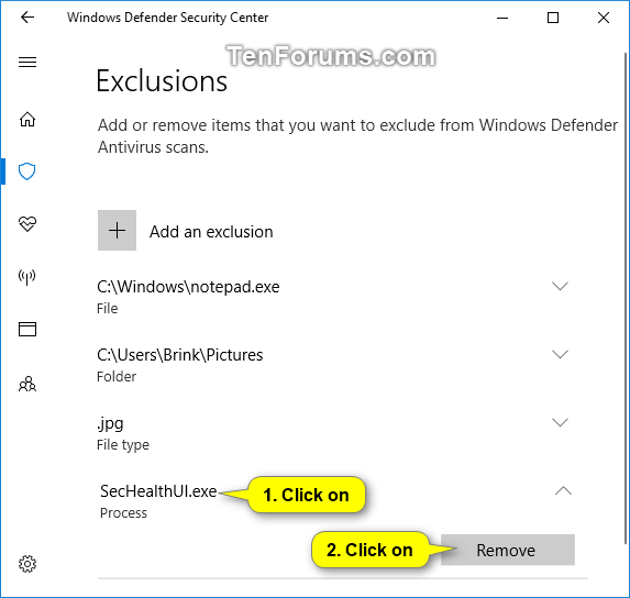 Add or Remove Windows Defender Antivirus Exclusions in Windows 10-windows_defender_remove_exclusions.png