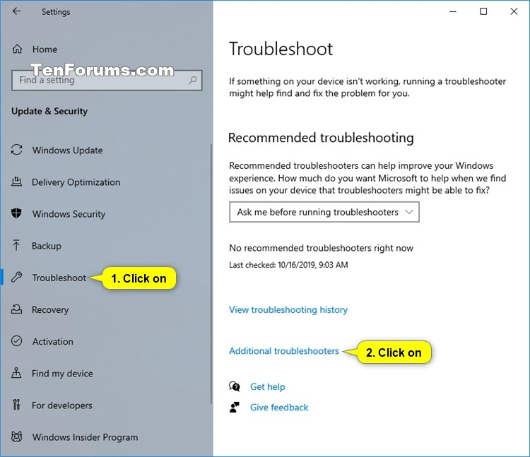 Troubleshoot Problems in Windows 10 with Troubleshooters-additional_troubleshooters.jpg