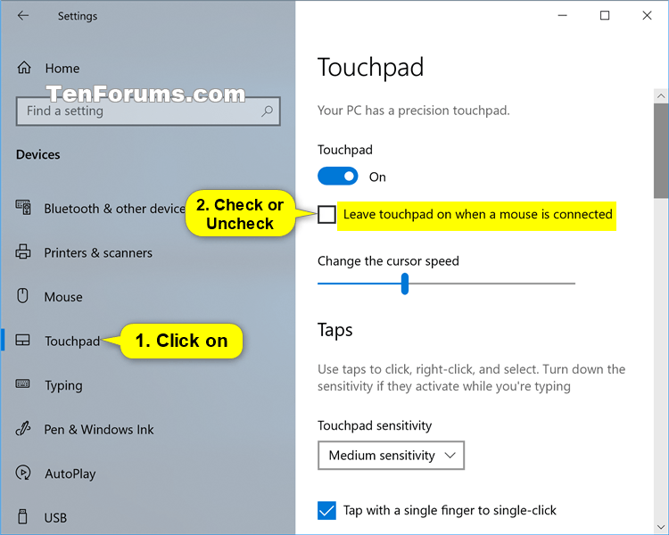 Disable Touchpad when Mouse is Connected in Windows 10-touchpad_settings.png