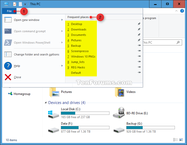 Reset and Clear Recent Items and Frequent Places in Windows 10-frequent_places.png