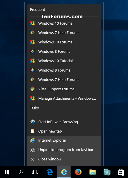 Turn On or Off Recent Items and Frequent Places in Windows 10-ie_jump_list.png