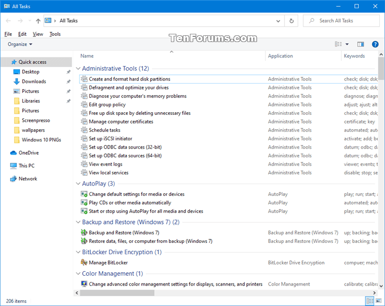 How to Add All Tasks to Control Panel in Windows 7, 8, and 10-control_panel_all_tasks.png