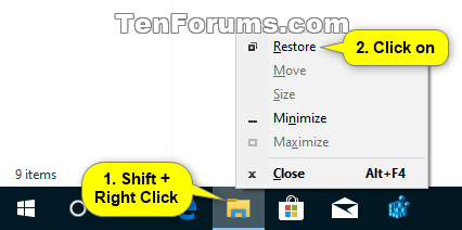 How to Maximize and Restore App Window in Windows 10-taskbar_shift_restore.png