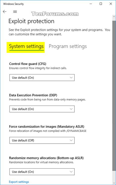 Change Windows Defender Exploit Protection Settings in Windows 10-windows_defender_exploit_protection-3.png