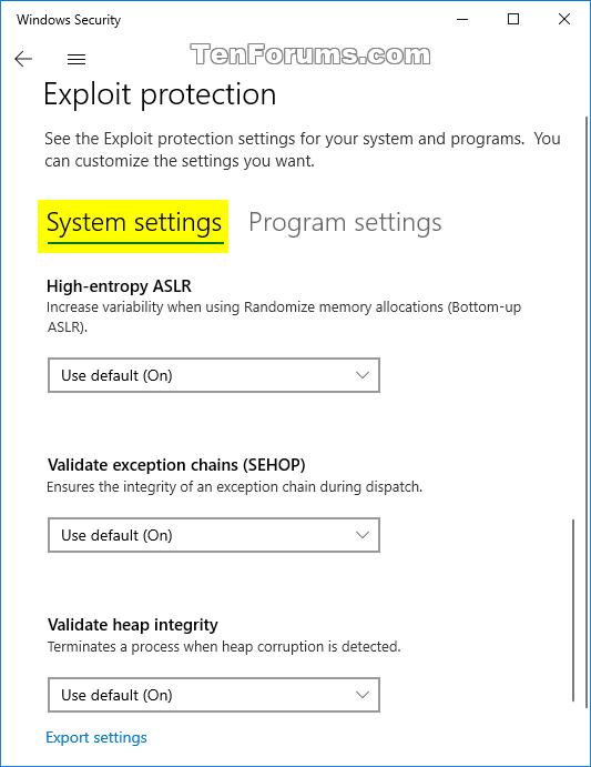 Change Windows Defender Exploit Protection Settings in Windows 10-windows_defender_exploit_protection-4.png