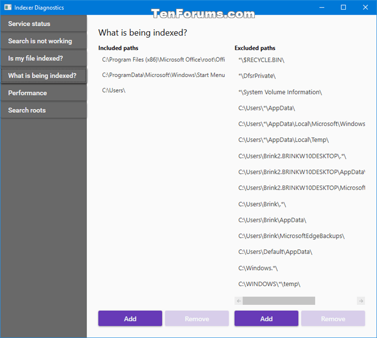 Use Indexer Diagnostics App for Windows Search Issues in Windows 10-indexer_diagnostics-what_is_being_indexed.png