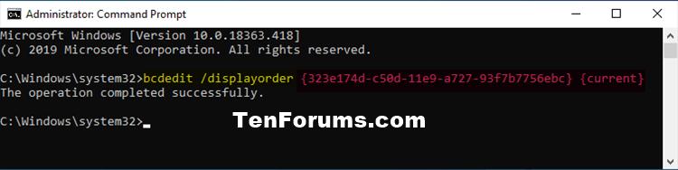 Change Boot Entry Display Order in Boot Menu at Startup in Windows-bcdedit_displayorder.png