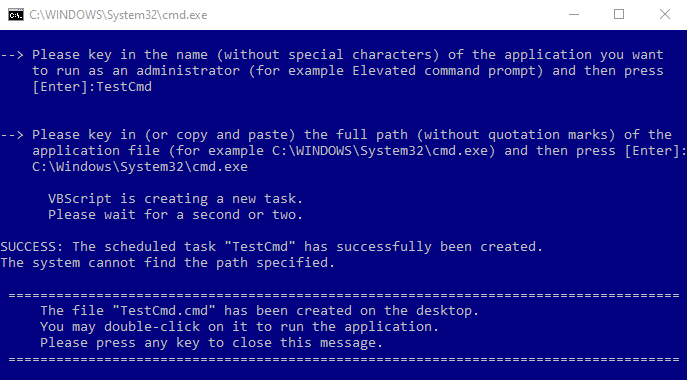Create Elevated Shortcut without UAC prompt in Windows 10-mw-error-msg.png