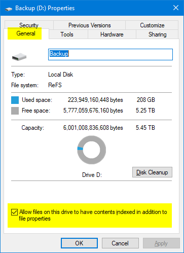 Add or Remove Search Index Locations in Windows 10-index.png