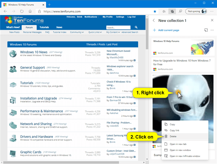 How to Remove Content from Collection in Microsoft Edge Chromium-microsoft_edge_delete_content_from_collection-2.png