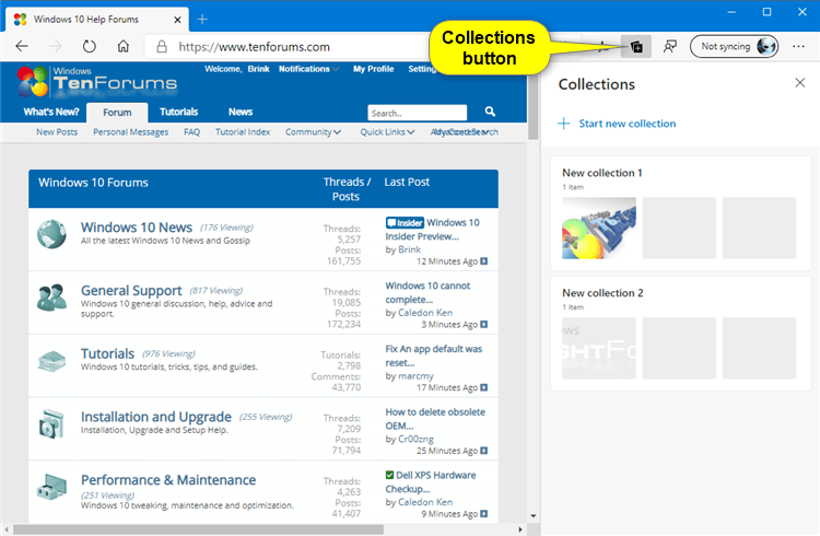 How to Add or Remove Collections Button in Microsoft Edge Chromium-collections_button.png