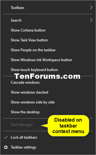 How to Enable or Disable Task Manager in Windows 10-task_manager_on_taskbar_context_menu.png