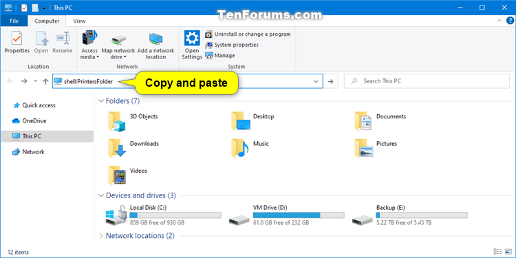 How to Add Printer to Send To Context Menu in Windows 10-create_printer_shortcut-1.png