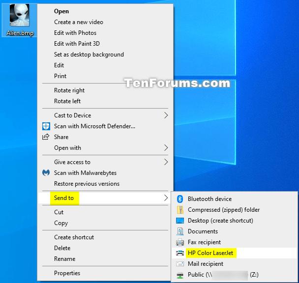 How to Add Printer to Send To Context Menu in Windows 10-sendto_printer_context_menu.png