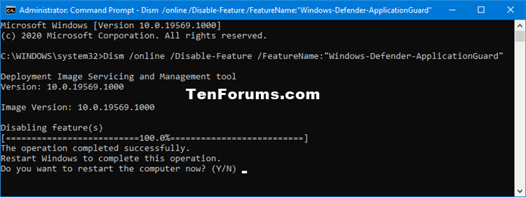 Turn On or Off Microsoft Defender Application Guard in Windows 10-turn_off_windows_defender_application_guard_command-1.png