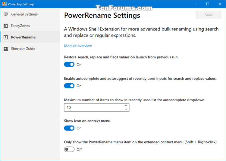 How to Download and Install Microsoft PowerToys in Windows 10-powertoys_settings-4.png