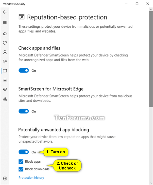 Enable or Disable Windows Defender PUA Protection in Windows 10-windows_security_potentially_unwanted_app_blocking-2.png