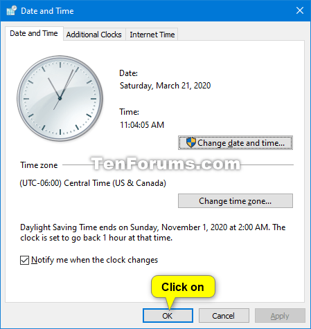 Turn On or Off Adjust for Daylight Saving Time in Windows 10-daylight_saving_time_control_panel-4.png